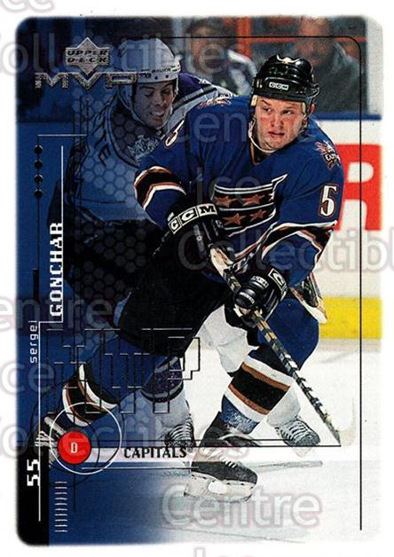 1998-99 Upper Deck MVP #211 Sergei Gonchar<br/>13 In Stock - $1.00 each - <a href=https://centericecollectibles.foxycart.com/cart?name=1998-99%20Upper%20Deck%20MVP%20%23211%20Sergei%20Gonchar...&quantity_max=13&price=$1.00&code=73099 class=foxycart> Buy it now! </a>