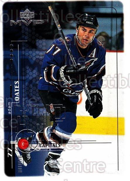 1998-99 Upper Deck MVP #212 Adam Oates<br/>13 In Stock - $1.00 each - <a href=https://centericecollectibles.foxycart.com/cart?name=1998-99%20Upper%20Deck%20MVP%20%23212%20Adam%20Oates...&quantity_max=13&price=$1.00&code=73100 class=foxycart> Buy it now! </a>
