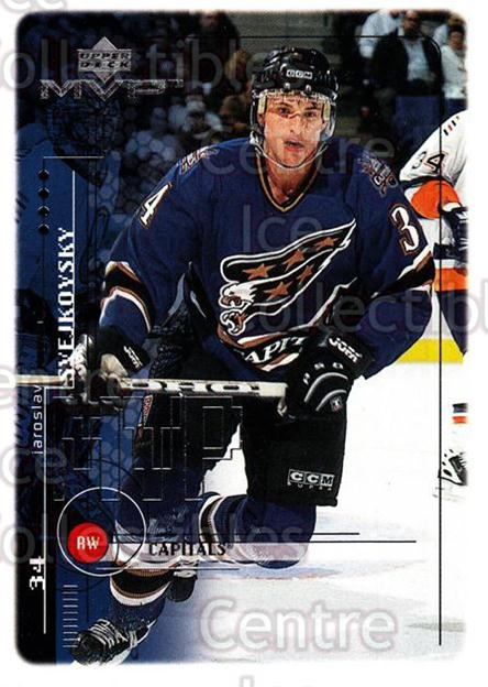 1998-99 Upper Deck MVP #217 Jaroslav Svejkovsky<br/>13 In Stock - $1.00 each - <a href=https://centericecollectibles.foxycart.com/cart?name=1998-99%20Upper%20Deck%20MVP%20%23217%20Jaroslav%20Svejko...&quantity_max=13&price=$1.00&code=73105 class=foxycart> Buy it now! </a>