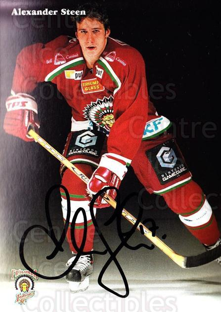2003-04 Swedish Frolunda Indians Autographed Postcards #19 Alexander Steen<br/>1 In Stock - $5.00 each - <a href=https://centericecollectibles.foxycart.com/cart?name=2003-04%20Swedish%20Frolunda%20Indians%20Autographed%20Postcards%20%2319%20Alexander%20Steen...&quantity_max=1&price=$5.00&code=731131 class=foxycart> Buy it now! </a>