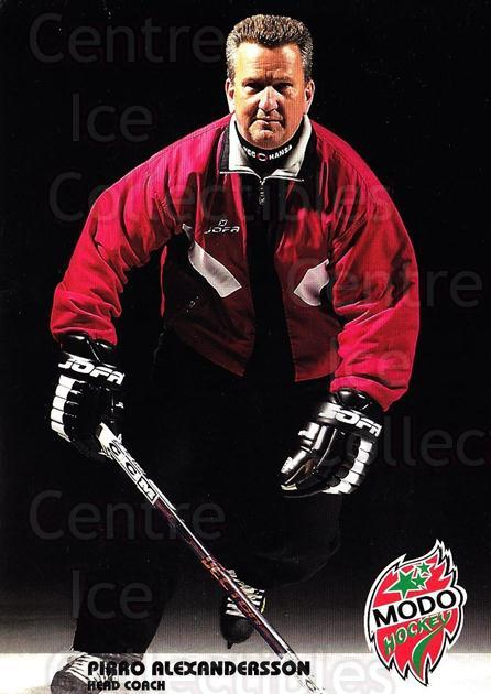 2003-04 Swedish MODO Hockey Postcards #1 Pirro Alexandersson<br/>1 In Stock - $3.00 each - <a href=https://centericecollectibles.foxycart.com/cart?name=2003-04%20Swedish%20MODO%20Hockey%20Postcards%20%231%20Pirro%20Alexander...&quantity_max=1&price=$3.00&code=731159 class=foxycart> Buy it now! </a>