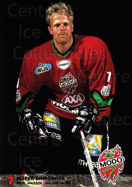 2003-04 Swedish MODO Hockey Postcards #3 Jesper Damgaard<br/>1 In Stock - $3.00 each - <a href=https://centericecollectibles.foxycart.com/cart?name=2003-04%20Swedish%20MODO%20Hockey%20Postcards%20%233%20Jesper%20Damgaard...&quantity_max=1&price=$3.00&code=731161 class=foxycart> Buy it now! </a>