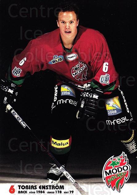 2003-04 Swedish MODO Hockey Postcards #5 Tobias Enstrom<br/>1 In Stock - $3.00 each - <a href=https://centericecollectibles.foxycart.com/cart?name=2003-04%20Swedish%20MODO%20Hockey%20Postcards%20%235%20Tobias%20Enstrom...&quantity_max=1&price=$3.00&code=731163 class=foxycart> Buy it now! </a>