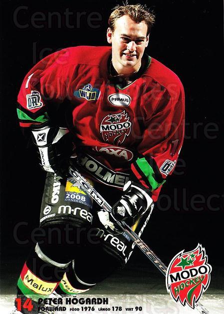 2003-04 Swedish MODO Hockey Postcards #10 Peter Hogardh<br/>1 In Stock - $3.00 each - <a href=https://centericecollectibles.foxycart.com/cart?name=2003-04%20Swedish%20MODO%20Hockey%20Postcards%20%2310%20Peter%20Hogardh...&quantity_max=1&price=$3.00&code=731168 class=foxycart> Buy it now! </a>