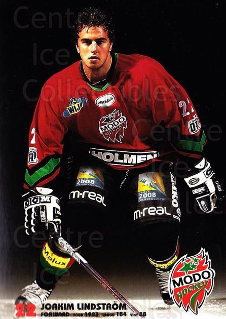 2003-04 Swedish MODO Hockey Postcards #15 Joakim Lindstrom<br/>1 In Stock - $3.00 each - <a href=https://centericecollectibles.foxycart.com/cart?name=2003-04%20Swedish%20MODO%20Hockey%20Postcards%20%2315%20Joakim%20Lindstro...&quantity_max=1&price=$3.00&code=731173 class=foxycart> Buy it now! </a>