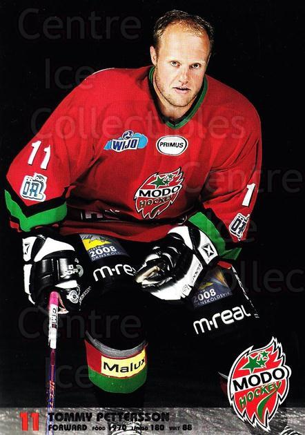 2003-04 Swedish MODO Hockey Postcards #19 Tommy Pettersson<br/>1 In Stock - $3.00 each - <a href=https://centericecollectibles.foxycart.com/cart?name=2003-04%20Swedish%20MODO%20Hockey%20Postcards%20%2319%20Tommy%20Pettersso...&quantity_max=1&price=$3.00&code=731177 class=foxycart> Buy it now! </a>