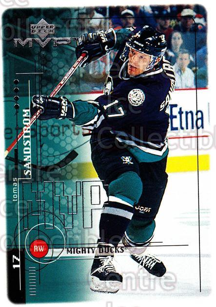 1998-99 Upper Deck MVP #3 Tomas Sandstrom<br/>14 In Stock - $1.00 each - <a href=https://centericecollectibles.foxycart.com/cart?name=1998-99%20Upper%20Deck%20MVP%20%233%20Tomas%20Sandstrom...&quantity_max=14&price=$1.00&code=73117 class=foxycart> Buy it now! </a>