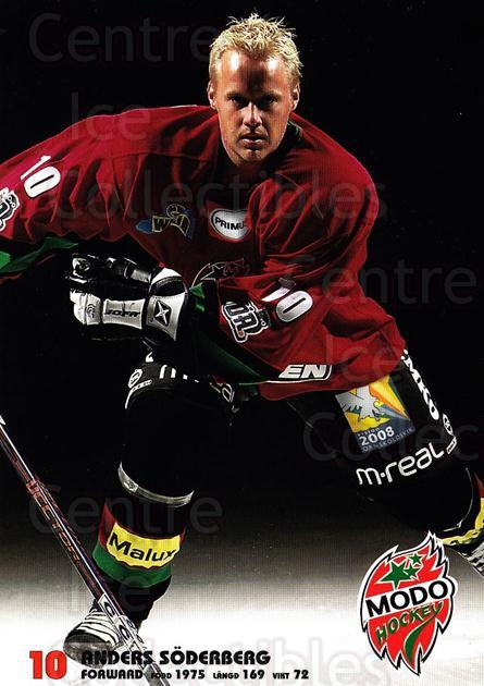 2003-04 Swedish MODO Hockey Postcards #22 Anders Soberberg<br/>1 In Stock - $3.00 each - <a href=https://centericecollectibles.foxycart.com/cart?name=2003-04%20Swedish%20MODO%20Hockey%20Postcards%20%2322%20Anders%20Soberber...&quantity_max=1&price=$3.00&code=731180 class=foxycart> Buy it now! </a>
