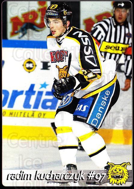 2003-04 Finnish Ilves Tampere Postcards #8 Radim Kucharczyk<br/>1 In Stock - $3.00 each - <a href=https://centericecollectibles.foxycart.com/cart?name=2003-04%20Finnish%20Ilves%20Tampere%20Postcards%20%238%20Radim%20Kucharczy...&quantity_max=1&price=$3.00&code=731241 class=foxycart> Buy it now! </a>
