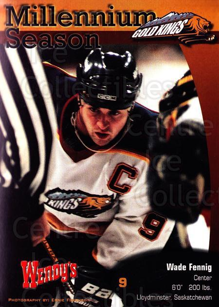 1999-00 Colorado Gold Kings Postcards #4 Wade Fennig<br/>1 In Stock - $5.00 each - <a href=https://centericecollectibles.foxycart.com/cart?name=1999-00%20Colorado%20Gold%20Kings%20Postcards%20%234%20Wade%20Fennig...&quantity_max=1&price=$5.00&code=731389 class=foxycart> Buy it now! </a>