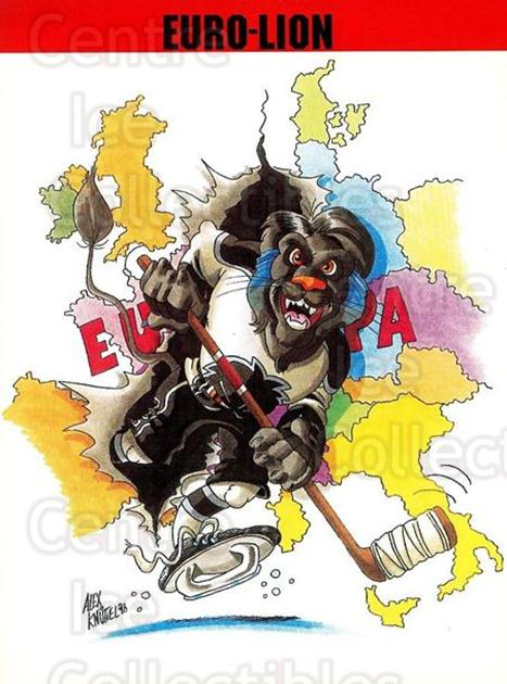 1998-99 German Frankfurt Lions Postcards #19 Mascot<br/>1 In Stock - $3.00 each - <a href=https://centericecollectibles.foxycart.com/cart?name=1998-99%20German%20Frankfurt%20Lions%20Postcards%20%2319%20Mascot...&quantity_max=1&price=$3.00&code=731437 class=foxycart> Buy it now! </a>