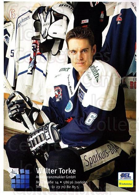 2004-05 German Iserlohn Roosters Postcards #20 Mike Martin<br/>1 In Stock - $3.00 each - <a href=https://centericecollectibles.foxycart.com/cart?name=2004-05%20German%20Iserlohn%20Roosters%20Postcards%20%2320%20Mike%20Martin...&quantity_max=1&price=$3.00&code=731764 class=foxycart> Buy it now! </a>