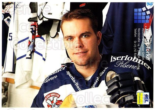 2004-05 German Iserlohn Roosters Postcards #22 Kevin Mitchell<br/>1 In Stock - $3.00 each - <a href=https://centericecollectibles.foxycart.com/cart?name=2004-05%20German%20Iserlohn%20Roosters%20Postcards%20%2322%20Kevin%20Mitchell...&quantity_max=1&price=$3.00&code=731766 class=foxycart> Buy it now! </a>