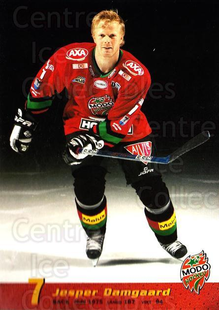 2004-05 Swedish MODO Hockey Postcards #5 Jesper Damgaard<br/>1 In Stock - $3.00 each - <a href=https://centericecollectibles.foxycart.com/cart?name=2004-05%20Swedish%20MODO%20Hockey%20Postcards%20%235%20Jesper%20Damgaard...&quantity_max=1&price=$3.00&code=731769 class=foxycart> Buy it now! </a>
