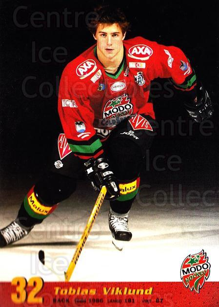 2004-05 Swedish MODO Hockey Postcards #22 Tobias Viklund<br/>1 In Stock - $3.00 each - <a href=https://centericecollectibles.foxycart.com/cart?name=2004-05%20Swedish%20MODO%20Hockey%20Postcards%20%2322%20Tobias%20Viklund...&quantity_max=1&price=$3.00&code=731782 class=foxycart> Buy it now! </a>