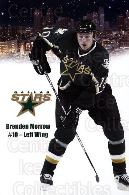 2003-04 Dallas Stars Postcards #17 Brenden Morrow<br/>1 In Stock - $3.00 each - <a href=https://centericecollectibles.foxycart.com/cart?name=2003-04%20Dallas%20Stars%20Postcards%20%2317%20Brenden%20Morrow...&quantity_max=1&price=$3.00&code=732007 class=foxycart> Buy it now! </a>