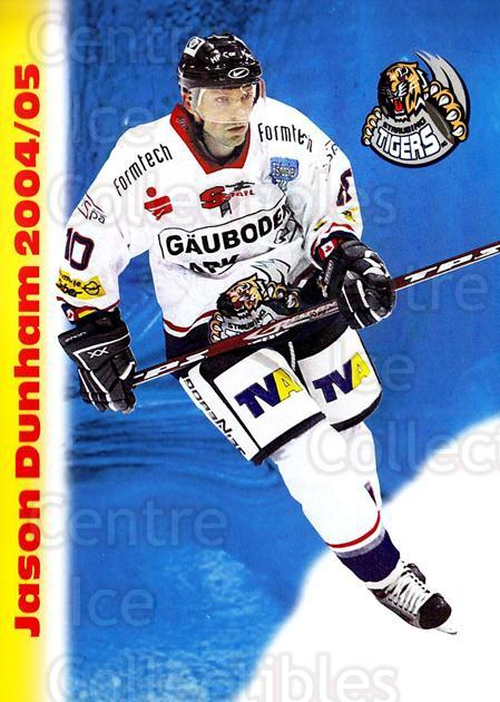 2004-05 German Straubing Tigers Postcards #4 Jason Dunham<br/>1 In Stock - $3.00 each - <a href=https://centericecollectibles.foxycart.com/cart?name=2004-05%20German%20Straubing%20Tigers%20Postcards%20%234%20Jason%20Dunham...&quantity_max=1&price=$3.00&code=732091 class=foxycart> Buy it now! </a>