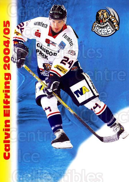 2004-05 German Straubing Tigers Postcards #5 Calvin Elfring<br/>1 In Stock - $3.00 each - <a href=https://centericecollectibles.foxycart.com/cart?name=2004-05%20German%20Straubing%20Tigers%20Postcards%20%235%20Calvin%20Elfring...&quantity_max=1&price=$3.00&code=732092 class=foxycart> Buy it now! </a>