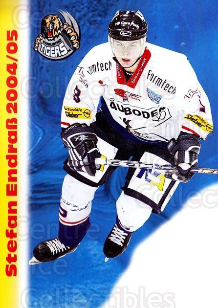 2004-05 German Straubing Tigers Postcards #6 Stefan Endrab<br/>1 In Stock - $3.00 each - <a href=https://centericecollectibles.foxycart.com/cart?name=2004-05%20German%20Straubing%20Tigers%20Postcards%20%236%20Stefan%20Endrab...&quantity_max=1&price=$3.00&code=732093 class=foxycart> Buy it now! </a>