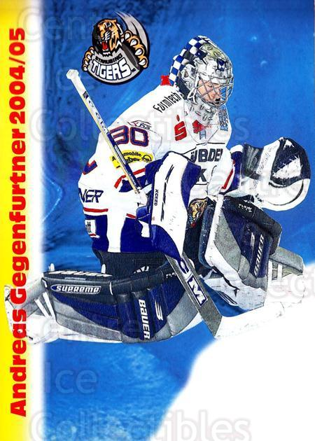 2004-05 German Straubing Tigers Postcards #9 Andreas Gegenfurtner<br/>1 In Stock - $3.00 each - <a href=https://centericecollectibles.foxycart.com/cart?name=2004-05%20German%20Straubing%20Tigers%20Postcards%20%239%20Andreas%20Gegenfu...&quantity_max=1&price=$3.00&code=732096 class=foxycart> Buy it now! </a>