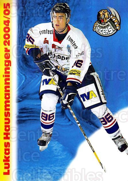2004-05 German Straubing Tigers Postcards #10 Lukas Hausmanninger<br/>1 In Stock - $3.00 each - <a href=https://centericecollectibles.foxycart.com/cart?name=2004-05%20German%20Straubing%20Tigers%20Postcards%20%2310%20Lukas%20Hausmanni...&quantity_max=1&price=$3.00&code=732097 class=foxycart> Buy it now! </a>