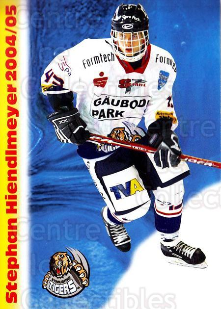 2004-05 German Straubing Tigers Postcards #12 Stephan Hiendlmeyer<br/>1 In Stock - $3.00 each - <a href=https://centericecollectibles.foxycart.com/cart?name=2004-05%20German%20Straubing%20Tigers%20Postcards%20%2312%20Stephan%20Hiendlm...&quantity_max=1&price=$3.00&code=732099 class=foxycart> Buy it now! </a>