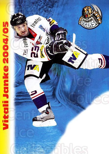 2004-05 German Straubing Tigers Postcards #13 Vitali Janke<br/>1 In Stock - $3.00 each - <a href=https://centericecollectibles.foxycart.com/cart?name=2004-05%20German%20Straubing%20Tigers%20Postcards%20%2313%20Vitali%20Janke...&quantity_max=1&price=$3.00&code=732100 class=foxycart> Buy it now! </a>