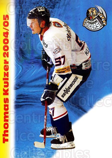2004-05 German Straubing Tigers Postcards #16 Thomas Kulzer<br/>1 In Stock - $3.00 each - <a href=https://centericecollectibles.foxycart.com/cart?name=2004-05%20German%20Straubing%20Tigers%20Postcards%20%2316%20Thomas%20Kulzer...&quantity_max=1&price=$3.00&code=732103 class=foxycart> Buy it now! </a>