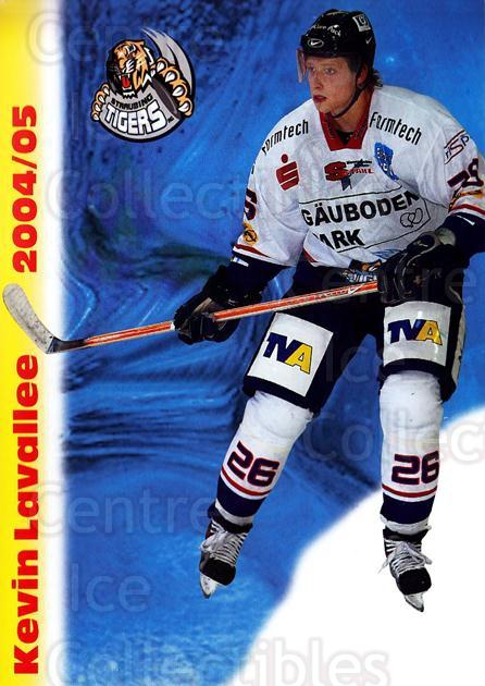 2004-05 German Straubing Tigers Postcards #17 Kevin Lavallee<br/>1 In Stock - $3.00 each - <a href=https://centericecollectibles.foxycart.com/cart?name=2004-05%20German%20Straubing%20Tigers%20Postcards%20%2317%20Kevin%20Lavallee...&quantity_max=1&price=$3.00&code=732104 class=foxycart> Buy it now! </a>