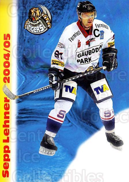 2004-05 German Straubing Tigers Postcards #18 Sepp Lehner<br/>1 In Stock - $3.00 each - <a href=https://centericecollectibles.foxycart.com/cart?name=2004-05%20German%20Straubing%20Tigers%20Postcards%20%2318%20Sepp%20Lehner...&quantity_max=1&price=$3.00&code=732105 class=foxycart> Buy it now! </a>