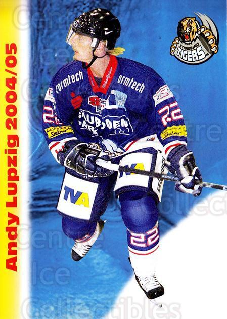 2004-05 German Straubing Tigers Postcards #19 Andy Lupzig<br/>1 In Stock - $3.00 each - <a href=https://centericecollectibles.foxycart.com/cart?name=2004-05%20German%20Straubing%20Tigers%20Postcards%20%2319%20Andy%20Lupzig...&quantity_max=1&price=$3.00&code=732106 class=foxycart> Buy it now! </a>