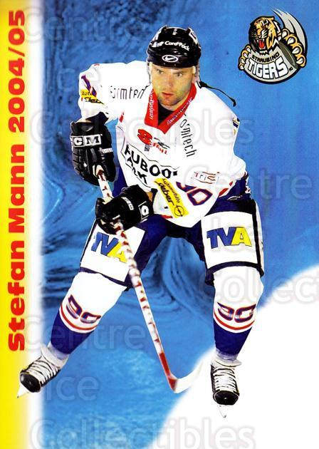 2004-05 German Straubing Tigers Postcards #20 Stefan Mann<br/>1 In Stock - $3.00 each - <a href=https://centericecollectibles.foxycart.com/cart?name=2004-05%20German%20Straubing%20Tigers%20Postcards%20%2320%20Stefan%20Mann...&quantity_max=1&price=$3.00&code=732107 class=foxycart> Buy it now! </a>