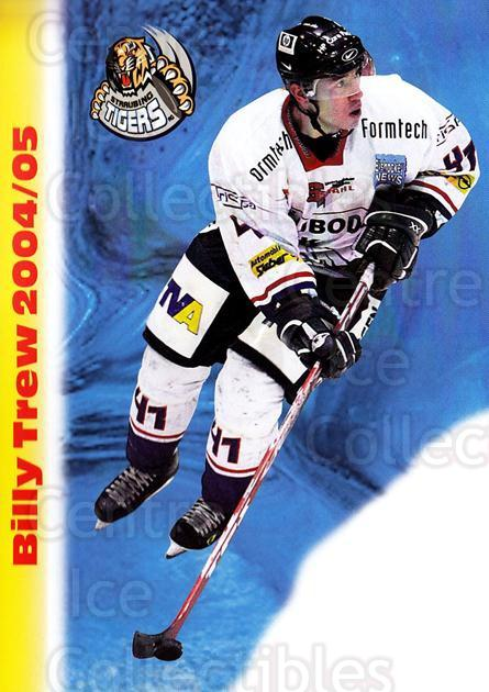 2004-05 German Straubing Tigers Postcards #22 Billy Trew<br/>1 In Stock - $3.00 each - <a href=https://centericecollectibles.foxycart.com/cart?name=2004-05%20German%20Straubing%20Tigers%20Postcards%20%2322%20Billy%20Trew...&quantity_max=1&price=$3.00&code=732109 class=foxycart> Buy it now! </a>
