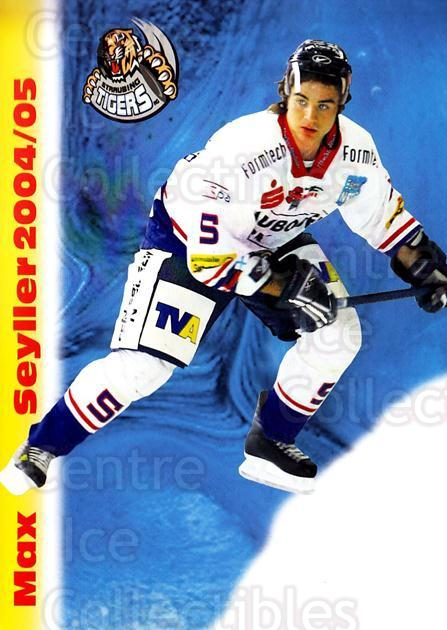 2004-05 German Straubing Tigers Postcards #23 Max Seyller<br/>1 In Stock - $3.00 each - <a href=https://centericecollectibles.foxycart.com/cart?name=2004-05%20German%20Straubing%20Tigers%20Postcards%20%2323%20Max%20Seyller...&quantity_max=1&price=$3.00&code=732110 class=foxycart> Buy it now! </a>