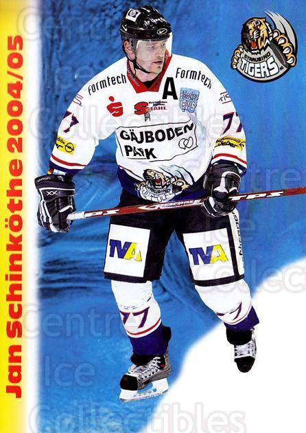 2004-05 German Straubing Tigers Postcards #24 Jan Schinkothe<br/>1 In Stock - $3.00 each - <a href=https://centericecollectibles.foxycart.com/cart?name=2004-05%20German%20Straubing%20Tigers%20Postcards%20%2324%20Jan%20Schinkothe...&quantity_max=1&price=$3.00&code=732111 class=foxycart> Buy it now! </a>