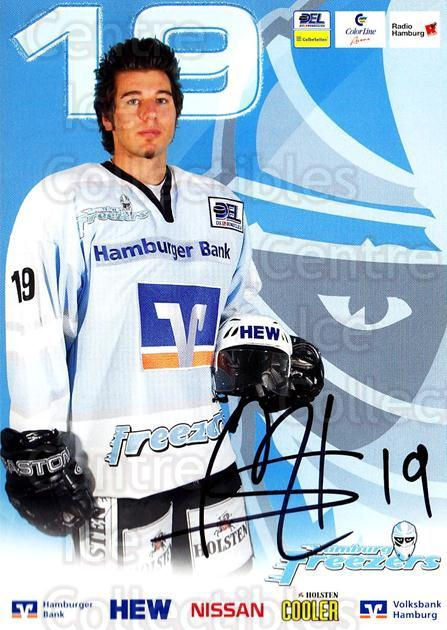 2004-05 German Hamburg Freezers Postcards #10 Sasa Martinovic<br/>1 In Stock - $3.00 each - <a href=https://centericecollectibles.foxycart.com/cart?name=2004-05%20German%20Hamburg%20Freezers%20Postcards%20%2310%20Sasa%20Martinovic...&quantity_max=1&price=$3.00&code=732195 class=foxycart> Buy it now! </a>
