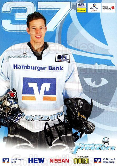 2004-05 German Hamburg Freezers Postcards #23 Leonhard Wild<br/>1 In Stock - $3.00 each - <a href=https://centericecollectibles.foxycart.com/cart?name=2004-05%20German%20Hamburg%20Freezers%20Postcards%20%2323%20Leonhard%20Wild...&quantity_max=1&price=$3.00&code=732208 class=foxycart> Buy it now! </a>