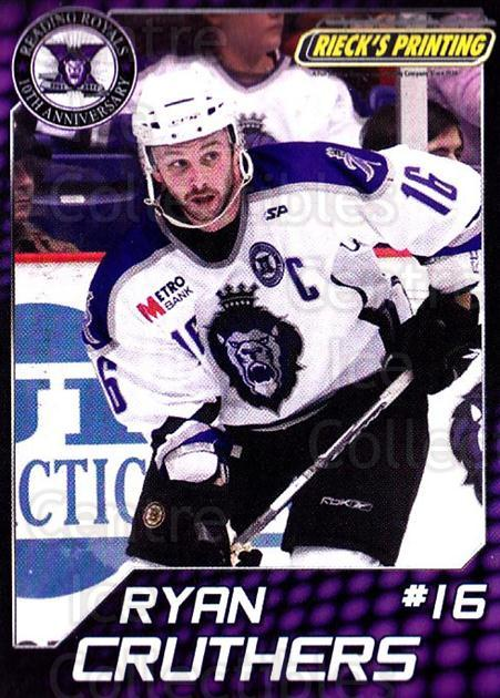 2010-11 Reading Royals #4 Ryan Cruthers<br/>1 In Stock - $3.00 each - <a href=https://centericecollectibles.foxycart.com/cart?name=2010-11%20Reading%20Royals%20%234%20Ryan%20Cruthers...&quantity_max=1&price=$3.00&code=732301 class=foxycart> Buy it now! </a>