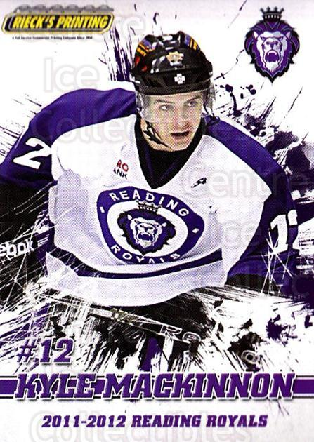 2011-12 Reading Royals #12 Kyle MacKinnon<br/>1 In Stock - $3.00 each - <a href=https://centericecollectibles.foxycart.com/cart?name=2011-12%20Reading%20Royals%20%2312%20Kyle%20MacKinnon...&quantity_max=1&price=$3.00&code=732341 class=foxycart> Buy it now! </a>