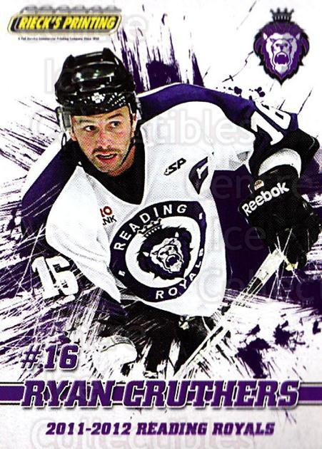 2011-12 Reading Royals #15 Ryan Cruthers<br/>1 In Stock - $3.00 each - <a href=https://centericecollectibles.foxycart.com/cart?name=2011-12%20Reading%20Royals%20%2315%20Ryan%20Cruthers...&quantity_max=1&price=$3.00&code=732344 class=foxycart> Buy it now! </a>