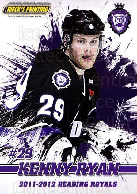 2011-12 Reading Royals #24 Kenny Ryan<br/>1 In Stock - $3.00 each - <a href=https://centericecollectibles.foxycart.com/cart?name=2011-12%20Reading%20Royals%20%2324%20Kenny%20Ryan...&quantity_max=1&price=$3.00&code=732353 class=foxycart> Buy it now! </a>