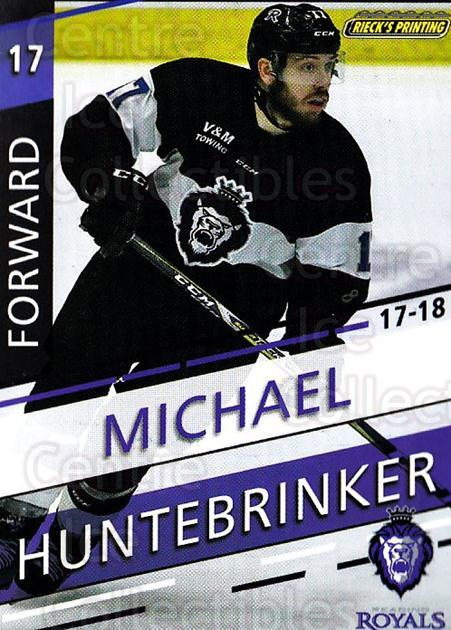 2017-18 Reading Royals #12 Mike Huntebrinker<br/>3 In Stock - $3.00 each - <a href=https://centericecollectibles.foxycart.com/cart?name=2017-18%20Reading%20Royals%20%2312%20Mike%20Huntebrink...&quantity_max=3&price=$3.00&code=732400 class=foxycart> Buy it now! </a>