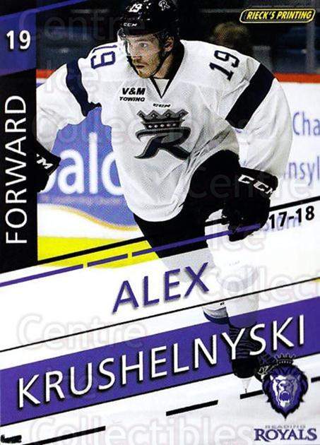 2017-18 Reading Royals #14 Alex Krushelnyski<br/>3 In Stock - $3.00 each - <a href=https://centericecollectibles.foxycart.com/cart?name=2017-18%20Reading%20Royals%20%2314%20Alex%20Krushelnys...&quantity_max=3&price=$3.00&code=732402 class=foxycart> Buy it now! </a>