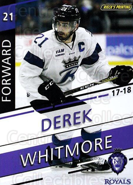 2017-18 Reading Royals #16 Derek Whitmore<br/>3 In Stock - $3.00 each - <a href=https://centericecollectibles.foxycart.com/cart?name=2017-18%20Reading%20Royals%20%2316%20Derek%20Whitmore...&quantity_max=3&price=$3.00&code=732404 class=foxycart> Buy it now! </a>