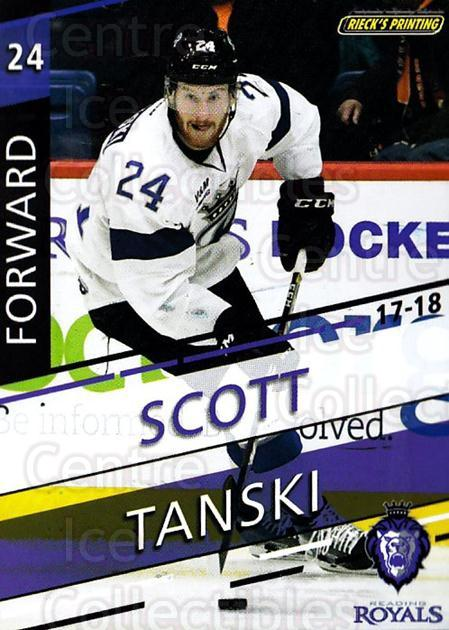 2017-18 Reading Royals #18 Scott Tanski<br/>3 In Stock - $3.00 each - <a href=https://centericecollectibles.foxycart.com/cart?name=2017-18%20Reading%20Royals%20%2318%20Scott%20Tanski...&quantity_max=3&price=$3.00&code=732406 class=foxycart> Buy it now! </a>