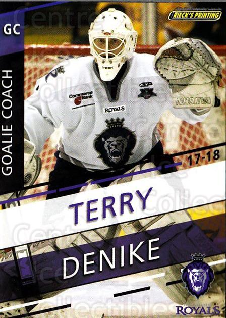 2017-18 Reading Royals #26 Terry Denike<br/>3 In Stock - $3.00 each - <a href=https://centericecollectibles.foxycart.com/cart?name=2017-18%20Reading%20Royals%20%2326%20Terry%20Denike...&quantity_max=3&price=$3.00&code=732414 class=foxycart> Buy it now! </a>