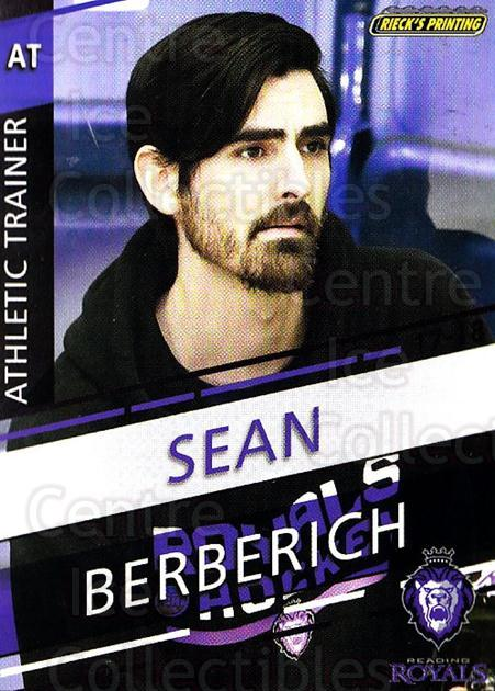 2017-18 Reading Royals #27 Sean Berberich<br/>3 In Stock - $3.00 each - <a href=https://centericecollectibles.foxycart.com/cart?name=2017-18%20Reading%20Royals%20%2327%20Sean%20Berberich...&quantity_max=3&price=$3.00&code=732415 class=foxycart> Buy it now! </a>