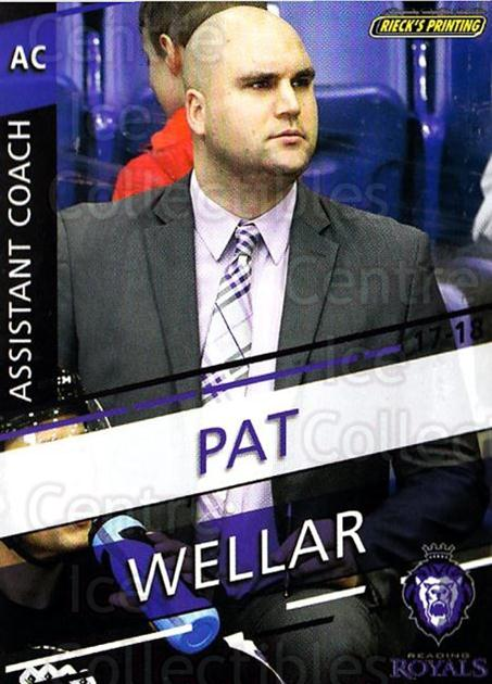 2017-18 Reading Royals #29 Patrick Wellar<br/>3 In Stock - $3.00 each - <a href=https://centericecollectibles.foxycart.com/cart?name=2017-18%20Reading%20Royals%20%2329%20Patrick%20Wellar...&quantity_max=3&price=$3.00&code=732417 class=foxycart> Buy it now! </a>