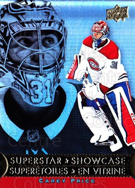 2018-19 Tim Hortons Superstar Showcase #4 Carey Price<br/>3 In Stock - $5.00 each - <a href=https://centericecollectibles.foxycart.com/cart?name=2018-19%20Tim%20Hortons%20Superstar%20Showcase%20%234%20Carey%20Price...&quantity_max=3&price=$5.00&code=732428 class=foxycart> Buy it now! </a>