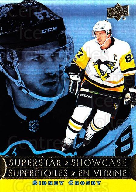 2018-19 Tim Hortons Superstar Showcase #8 Sidney Crosby<br/>4 In Stock - $10.00 each - <a href=https://centericecollectibles.foxycart.com/cart?name=2018-19%20Tim%20Hortons%20Superstar%20Showcase%20%238%20Sidney%20Crosby...&quantity_max=4&price=$10.00&code=732432 class=foxycart> Buy it now! </a>